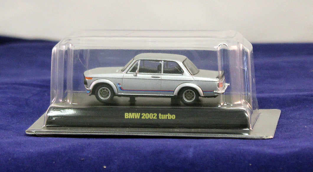 1:64  Silver  BMW  1974 2002 turbo