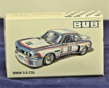 Load image into Gallery viewer, 1:87  White  BMW  E9 3.5 CSL (#24) 1975 Stuck/Posey