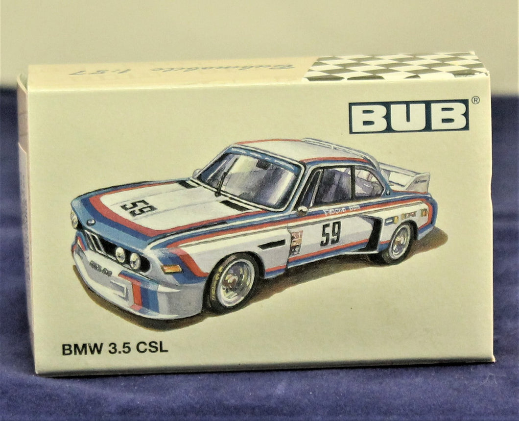 1:87  White  BMW  E9 3.5 CSL (#24) 1975 Stuck/Posey