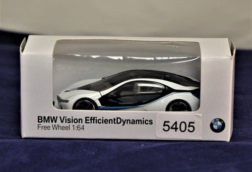 1:64 White  BMW  Concept 2010 Vision Efficient Dynamics Concept