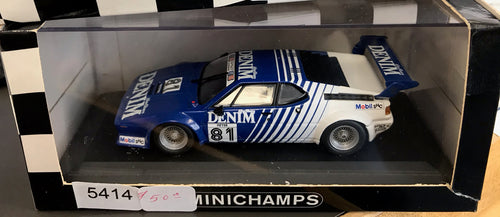 1:43 Wht/Multiple BMW E26 M1 Denim #81