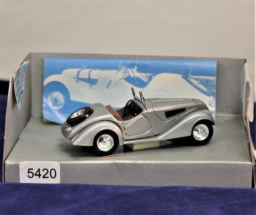 1:43 Silver  BMW  PW  1938 328 Roadster