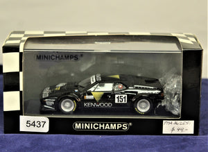 1:43 Black  BMW  E26 1986 M1 Kenwood #151