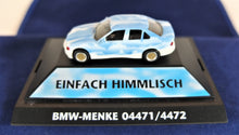 Load image into Gallery viewer, Herpa 1:87  White/Blue BMW  E36 3 Series Cloud Car