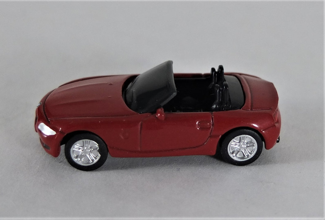 1:100  Red  BMW  E85 Z4 M Roadster