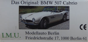 IMU 1:87 White BMW 507