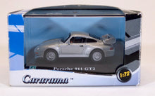 Load image into Gallery viewer, Cararama 1:72 Silver Porsche 911 993 GT2