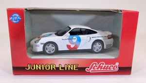 Schuco 1:43 White Porsche 911 Driving School #9