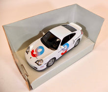 Load image into Gallery viewer, Schuco 1:43 White Porsche 911 Driving School #9