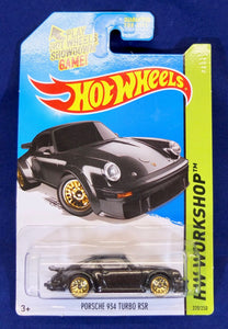Hot Wheels 1:64 Black Porsche 934 Turbo RSR