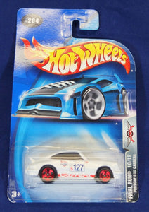 Hot Wheels 1:64 White Porsche 1973 Carrera RS