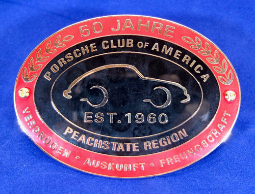 PCA Peachstate Region grille badge
