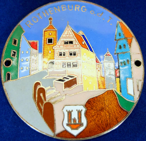 Rothenburg grill badge