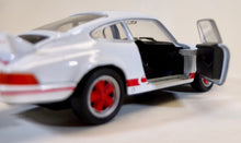 Load image into Gallery viewer, Welly 1:36  Wht/Red Porsche 1973 911 Carrera RS