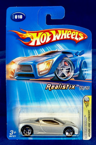 Hot Wheels 1:64 Silver Acura HSC Concept