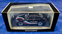 Load image into Gallery viewer, Minichamps 1:43 2016 Black BMW M2 Coupe Pace Car, 1 of 504