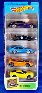 Hot Wheels HW EXOTICS 5-Pack GHP50