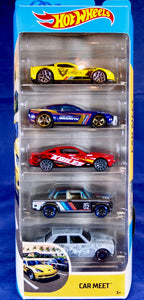 Hot Wheels Car Meet 5-Pack GHP52