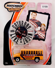 Load image into Gallery viewer, Matchbox 1:64 Multiple Bus, Van, Truck, Truck from SNL 4 vehicle set