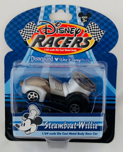 Disney Racers 1:64 Mickey Mouse Steamboat Willie & Mickey Mouse