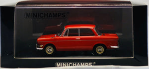 Minichamps 1:43 BMW 700 LS 1960 Red, 1 of 1008.