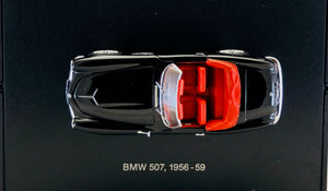 BMW 1:43 Black 507 Cabriolet 1956-1959, BMW Box
