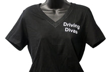 "Load image into Gallery viewer, Driving Divas ""Heats Up Fast"" T-shirt"