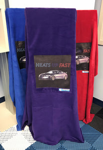 BMW M4 'Heats up Fast' Fleece Blanket
