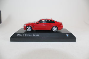 BMW 1:43 F32 4 Series Coupe - Melbourne Red Metallic.