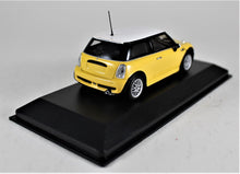 Load image into Gallery viewer, Minichamps 1:43 Mini One with Aero Pkg. 2002, Yellow, 1 of 744.