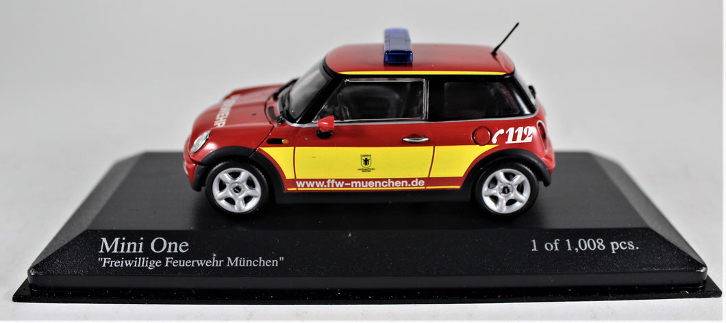 Minichamps 1:43 Mini One 2001,