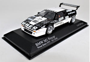 Minichamps 1:43 BMW M1 PROCAR. Team Cassani, Hans Stuck 1979