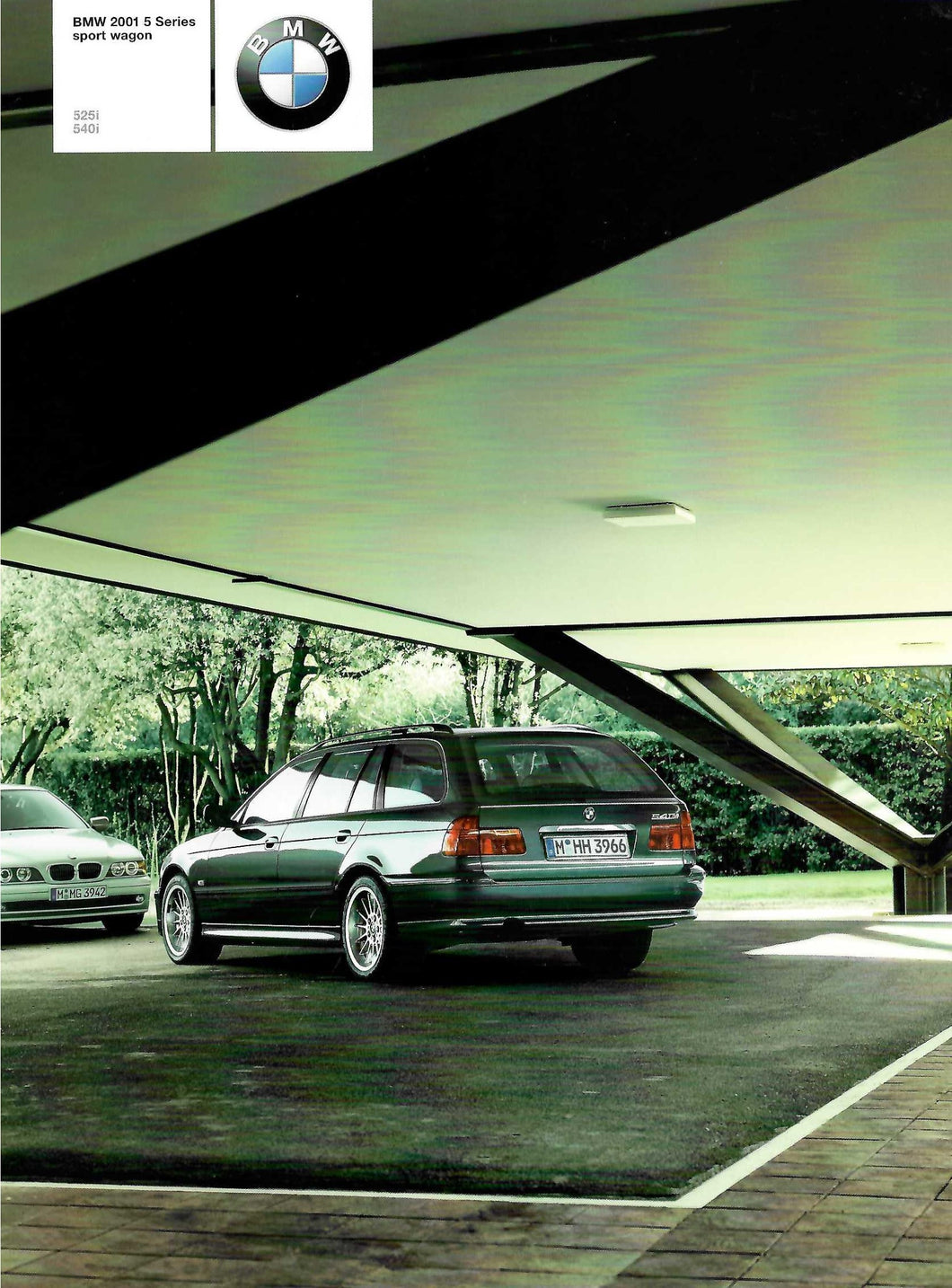 Brochure - BMW 2001 5 -Series Sports Wagon 525i 540i