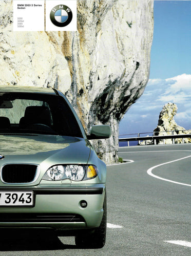 Brochure - BMW 2003 3 Series Sedan 325i 325xi 330i 330xi - E46