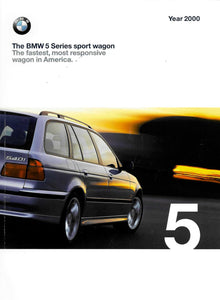 Brochure - BMW 5 Series Sports Wagon. The fastest , most responsive wagon in America. Year 2000