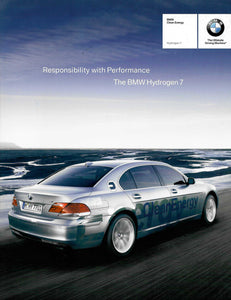 Brochure - BMW Clean Energy Hydrogen 7. Responsibility with performance. The BMW Hydrogen 7