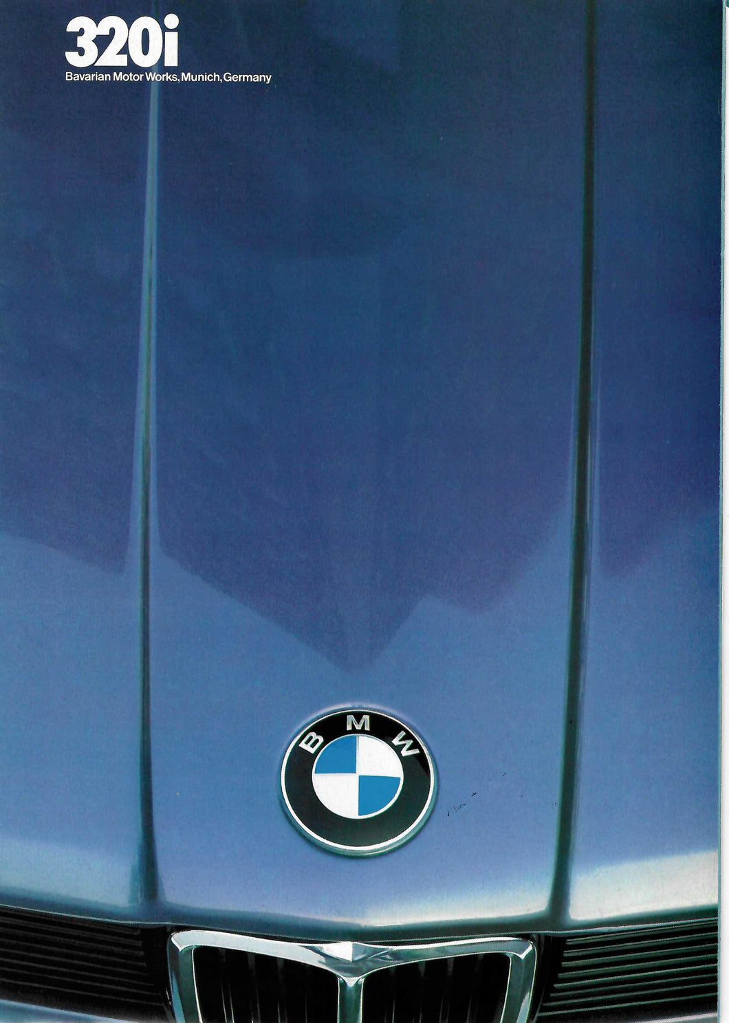 Brochure - 320i Barvarian Motor Works, Munich, Germany (1982)