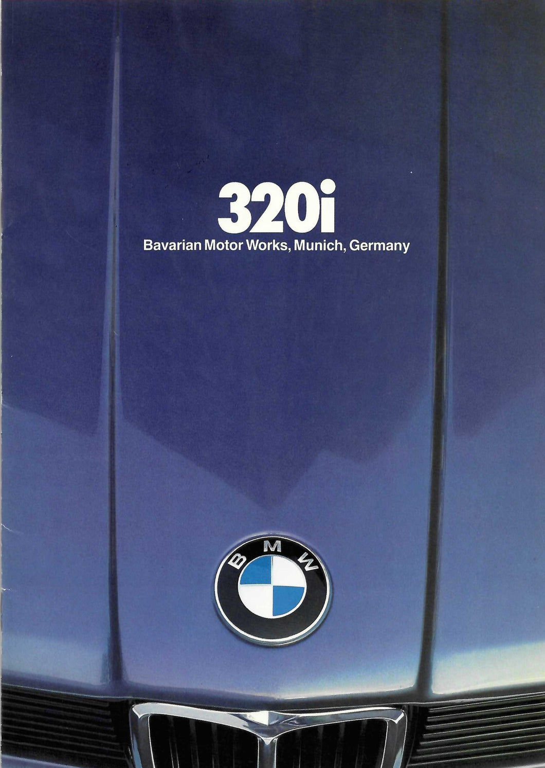 Brochure - 320i Barvarian Motor Works, Munich, Germany (1980) Large