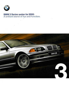 Brochure - BMW 3 Series sedan for 2000: A brilliant blend of fun and function.