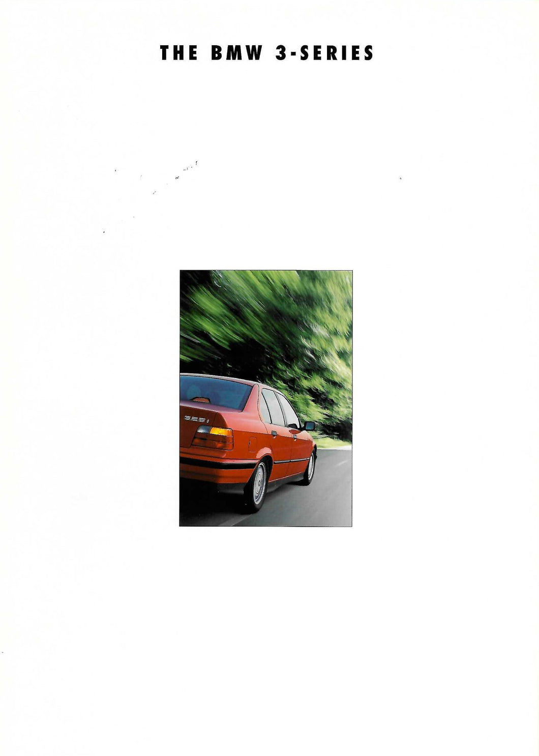 Brochure - THE BMW 3-SERIES (1993)