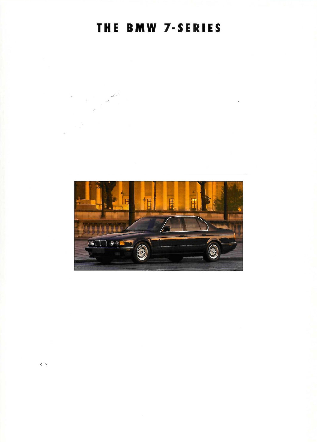Brochure - THE BMW 7-Series (1994)
