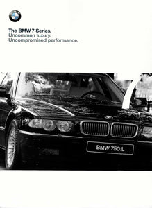 Brochure - BMW 7 Series. Uncommon Luxury. Uncompromized performance. (1998)