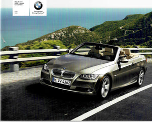 Brochure - The all-new 2007 BMW 3 Series Convertible 328i 335i - E93 Brochure (small version)