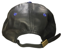 Load image into Gallery viewer, Hat - Mens Leather Warm Adjustable Snapback - BMW CCA 30 Jahre 1969 - 1999