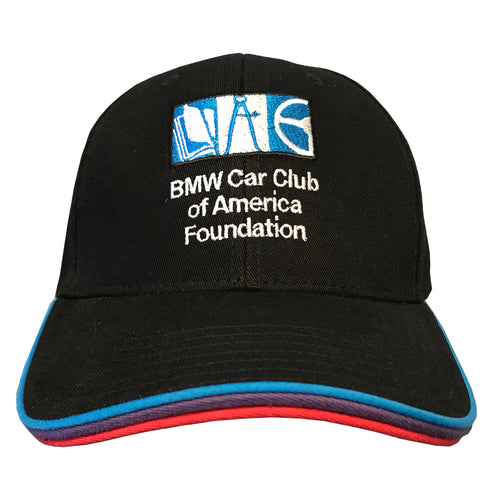 BMW CCA Foundation M Hat w/ Motorsport Colors Brim