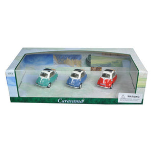 Model - BMW Isetta 3pc Gift Set 1:43 Scale Diecast Model