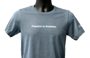 Passion - Badge T-shirt, Heather Slate