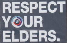 Load image into Gallery viewer, Decal - BMW Respect Your Elders window sticker