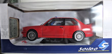Load image into Gallery viewer, Solido 1:18 Red BMW E30 M3