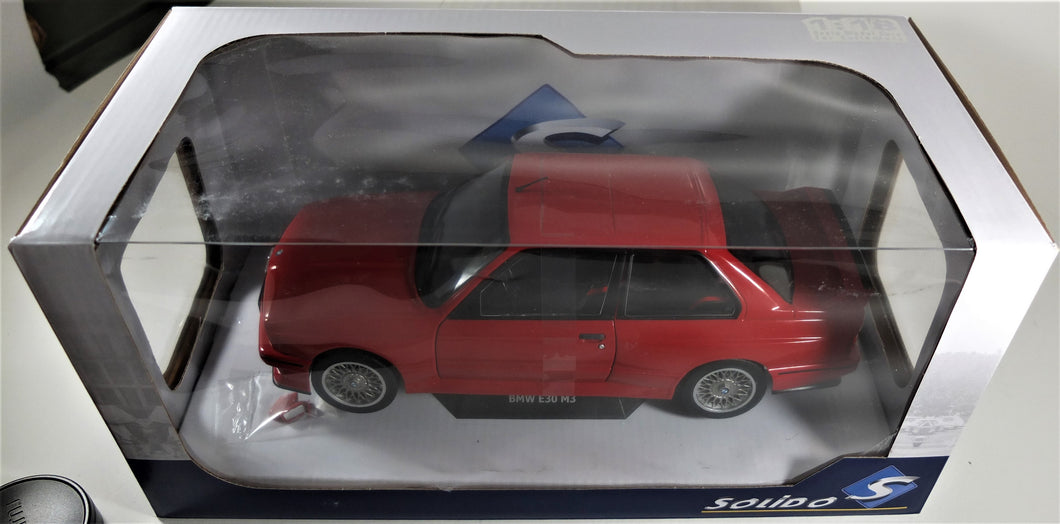 Solido 1:18 Red BMW E30 M3